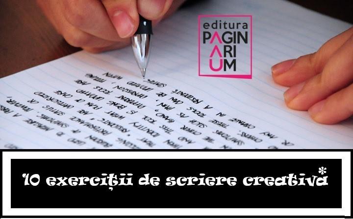 10 exerciții de scriere creativă pentru începători