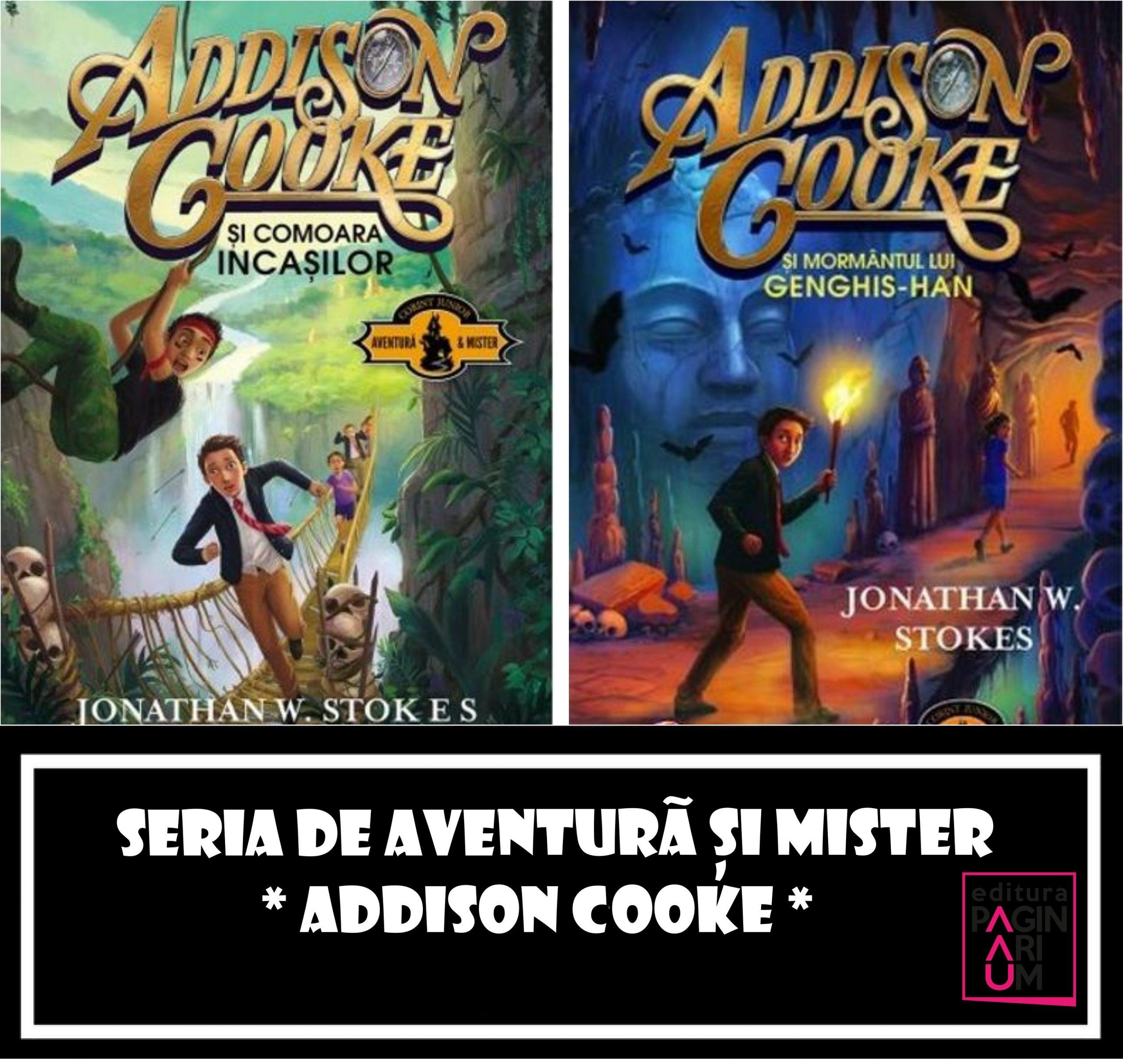 Seria de aventură și mister pentru copii – Addison Cooke