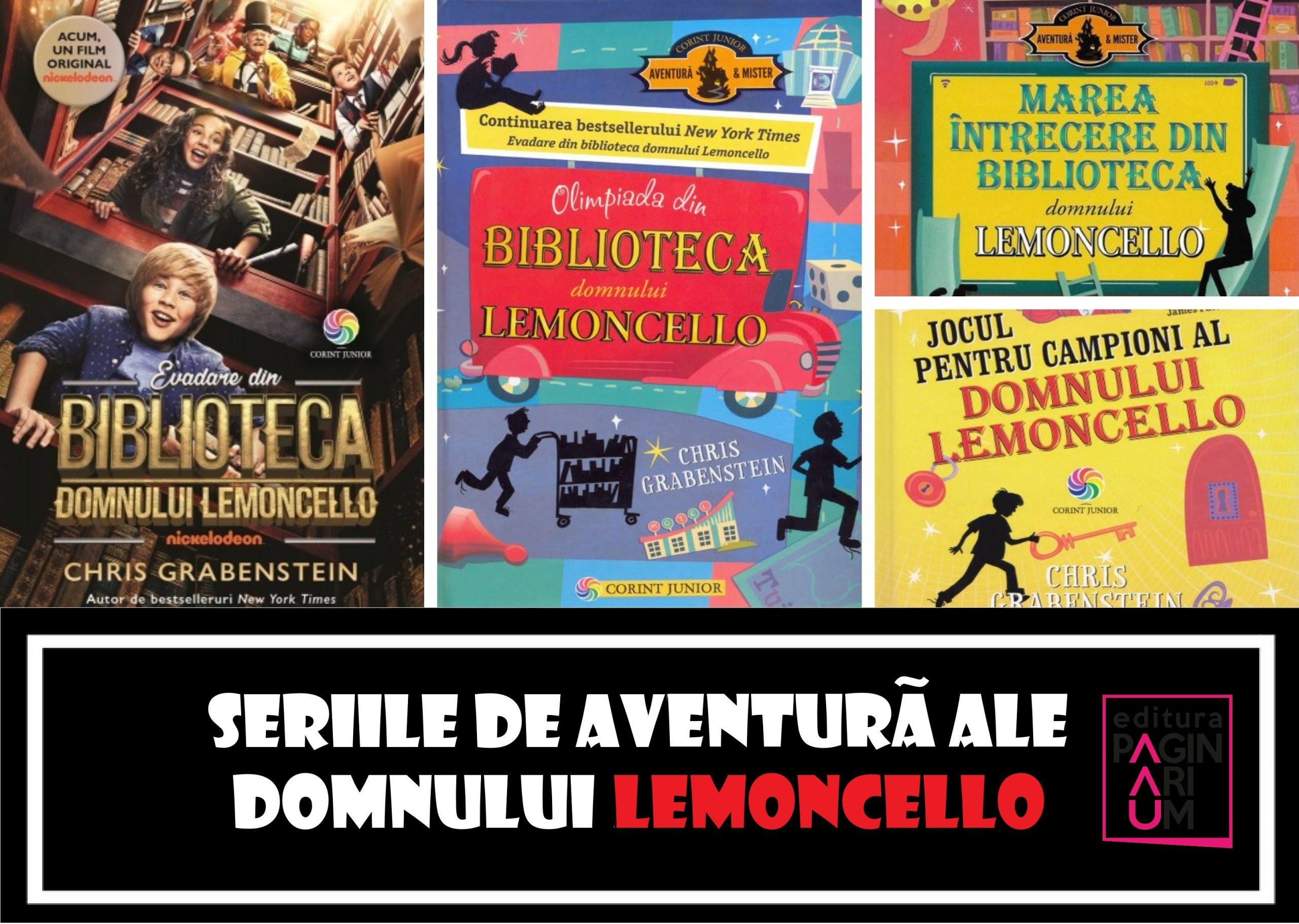 Seria de aventură a domnului Lemoncello