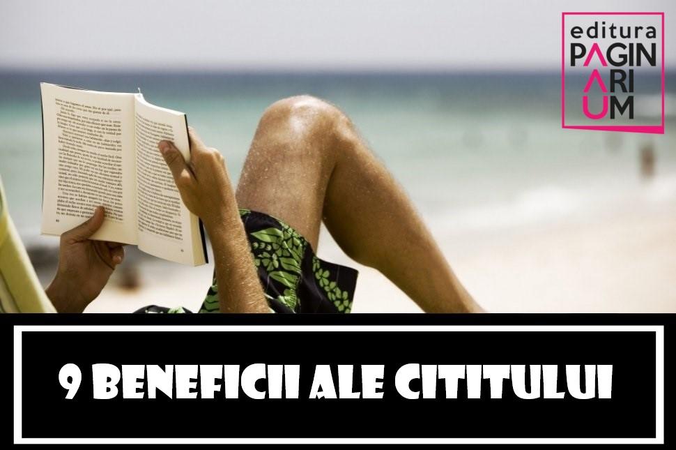 9 beneficii ale cititului