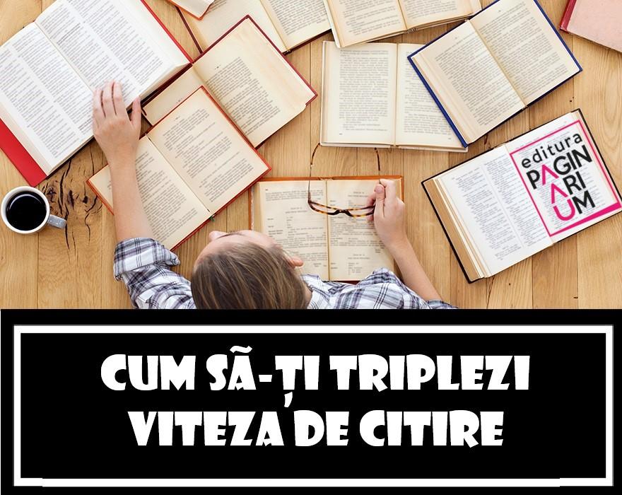 Cum să-ți triplezi viteza de citire