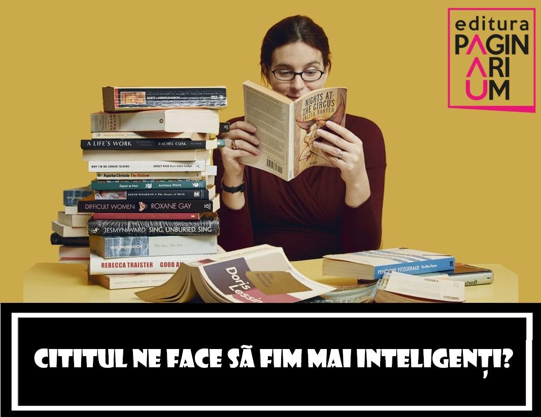 Cititul ne face să fim mai inteligenți?