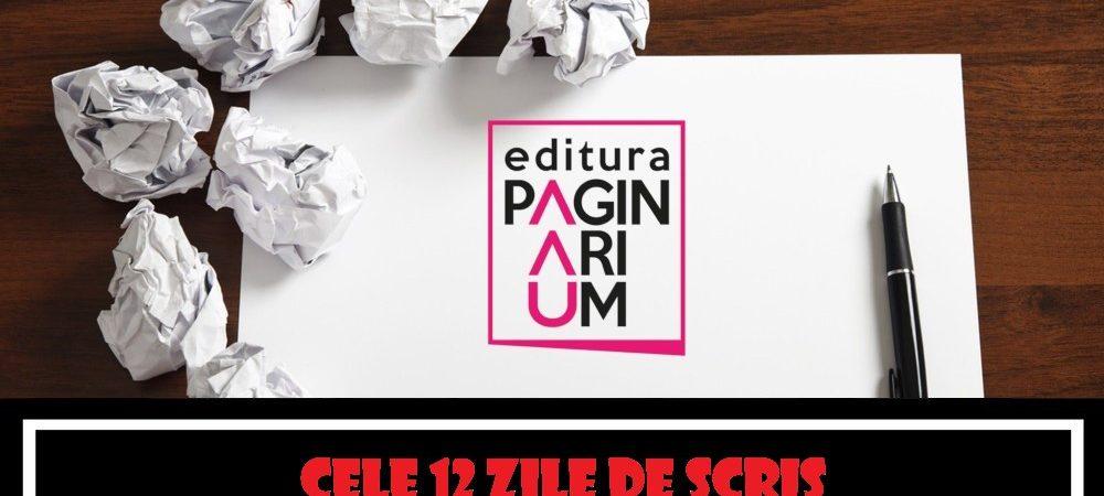 """""""Cele douăsprezece zile de scris"""" – poezie comică pentru scriitori la început de drum"""