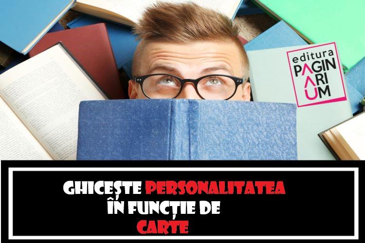 Ghicește personalitatea cuiva în funcție de cartea pe care o citește