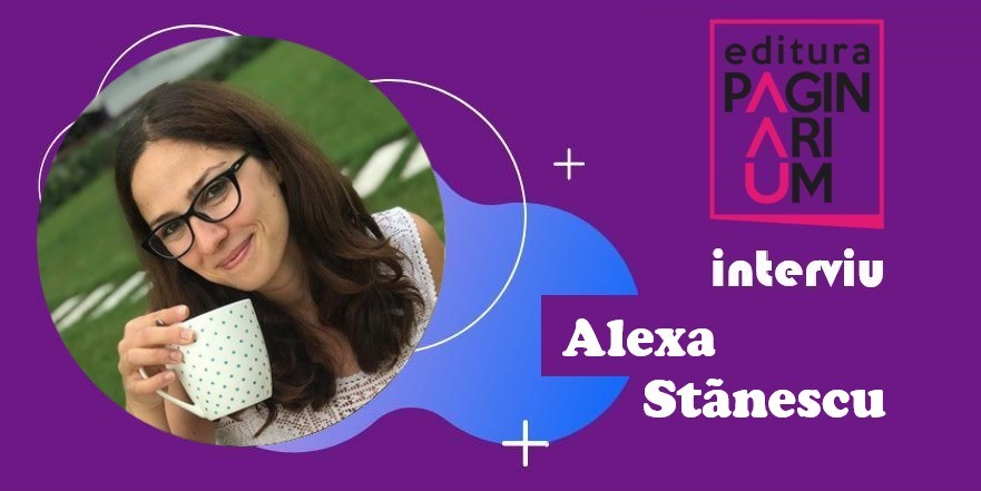 Alexa Stănescu: Când cumpăr o carte o miros cu ochii închiși