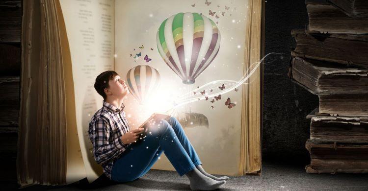 Cum îmbunătățește cititul imaginația?